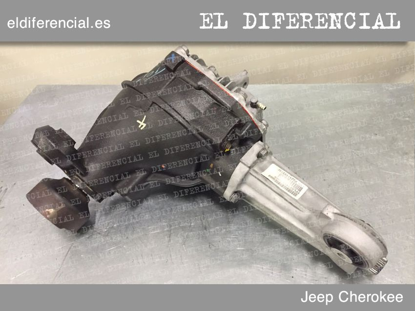 differencial jeep cherokee frente