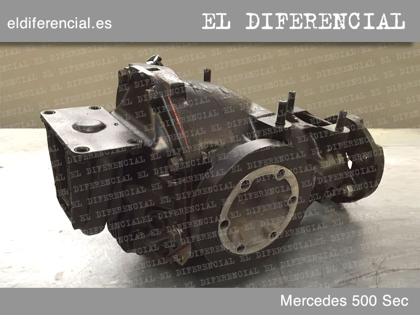 differencial mercedes 500 sec