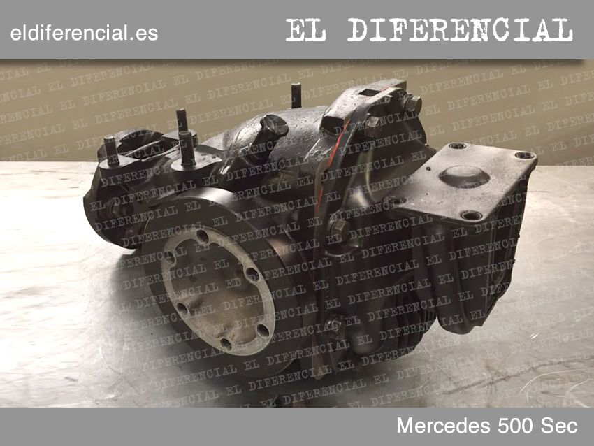 differencial mercedes 500 sec 1