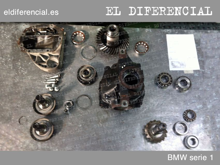 differencial bmw serie1 desmonto